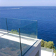 High quality tempered laminated frameless glass balustrade/fence/railing