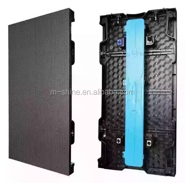 Slim Rental Indoor/Outdoor Full Color LED Video Display Screen Panel Factory Advertising (P3.91, P4.8, P5.95, P6.25 ,P7.81board)