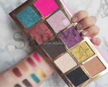 2016 New Arrival 10 Colors High Quality Pro Eyeshadow Palette in Stock Eyeshadow Makeup Palette