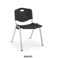 black cheap plastic stacking chairs
