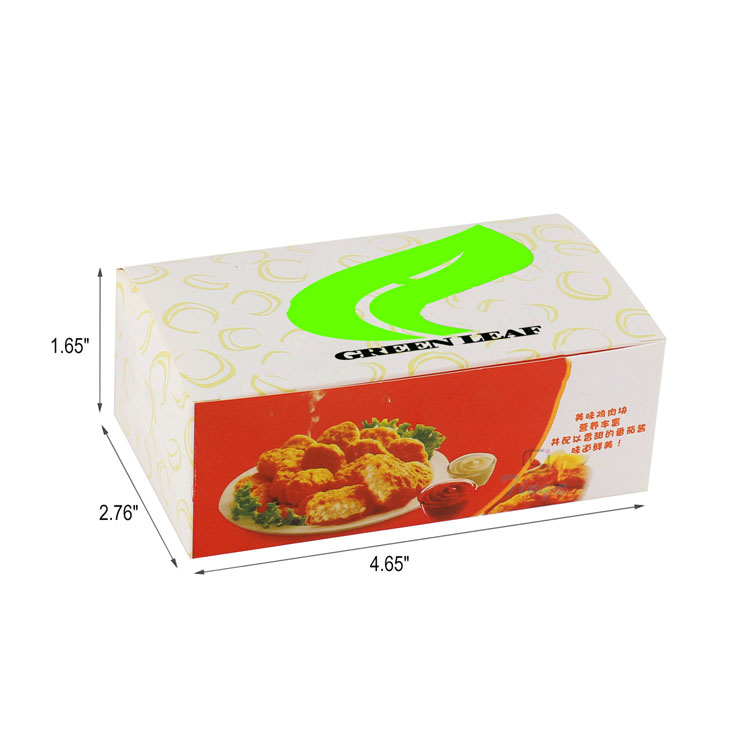cheap disposable paper food box jakarta