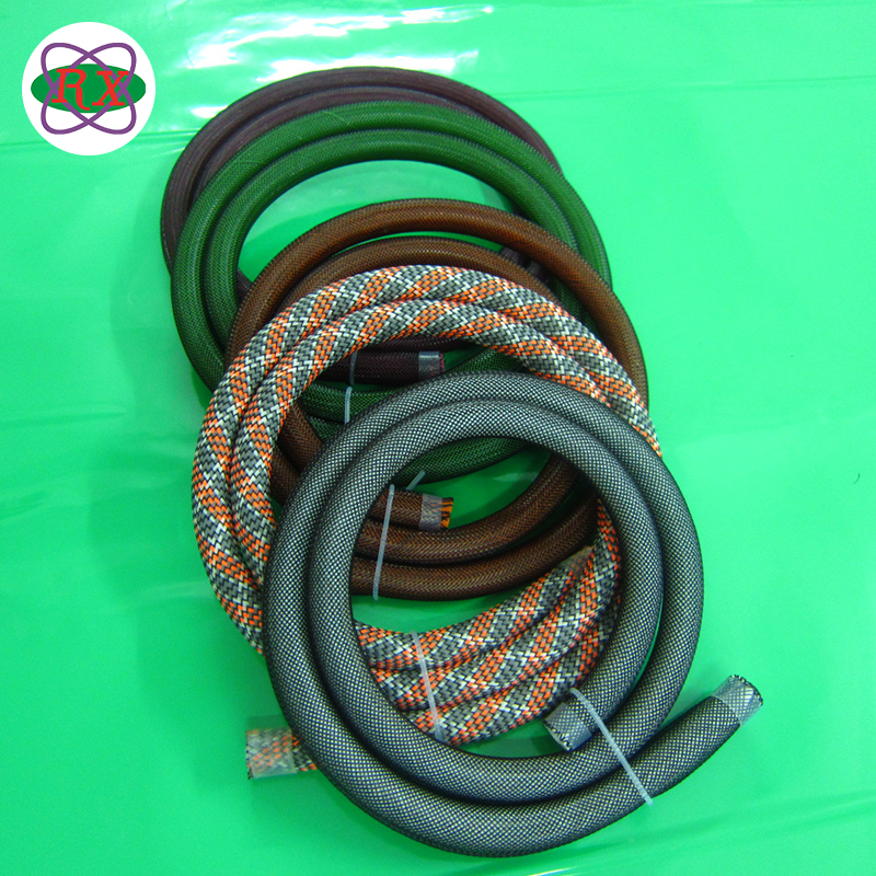 Extruded with platinum-cured woven reinforced Shisha Hookah silicone rubber hose