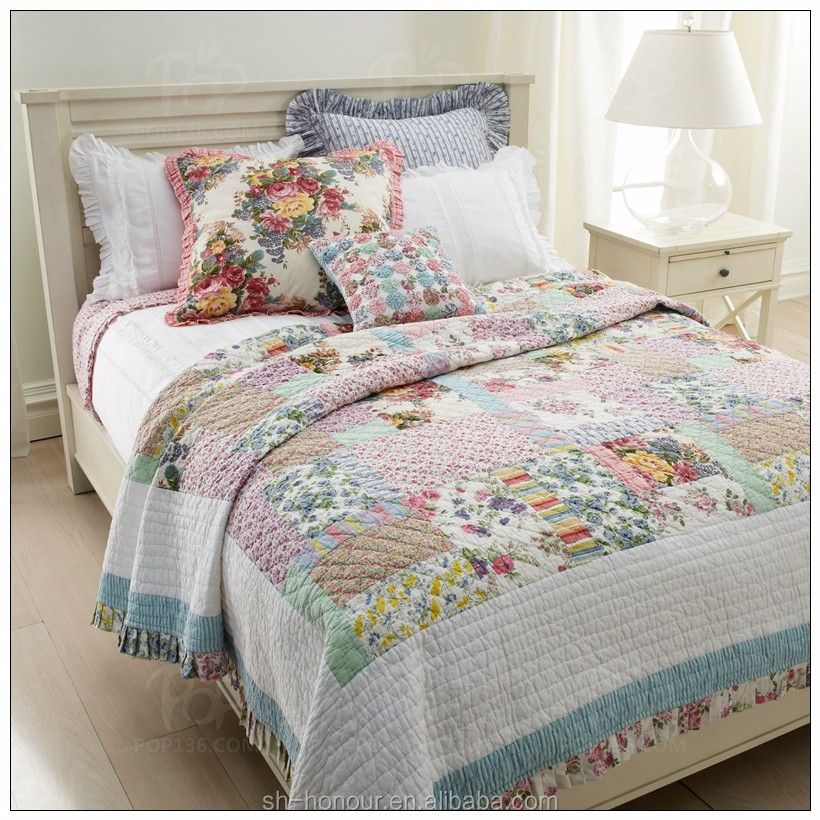Wholesale quilted sheet set ,Hot sale bed spread ,modern bed sheet sets