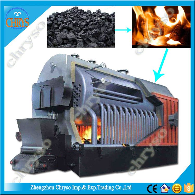 industry machinery biomass pellet fuel steam cooking machine coal fired chain grate stoker boiler, Steam Boiler Sales