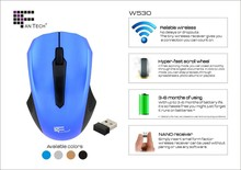 Super Cheap Popular Game Wireless Mouse W530 Optical Mouse