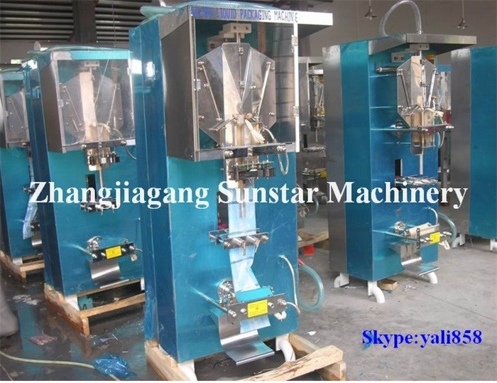 Nigerial hot popular automati plastic sachet pure water production equipment