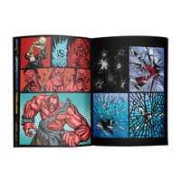 chinese cheap color printing adult comic book