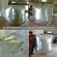 good quality container bulk Aluminium liner bag manufacturer and exporter from India