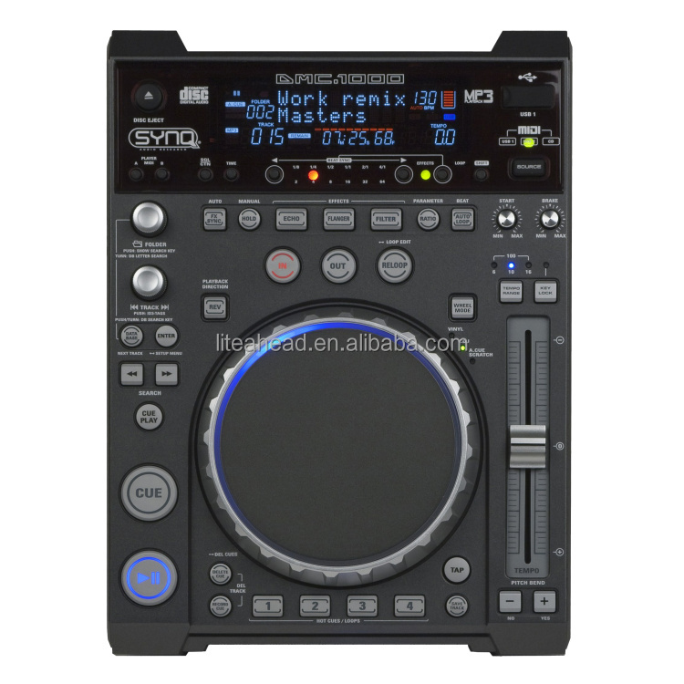 USB MIDI DJ Multimedia CDJ Player DMC-1000