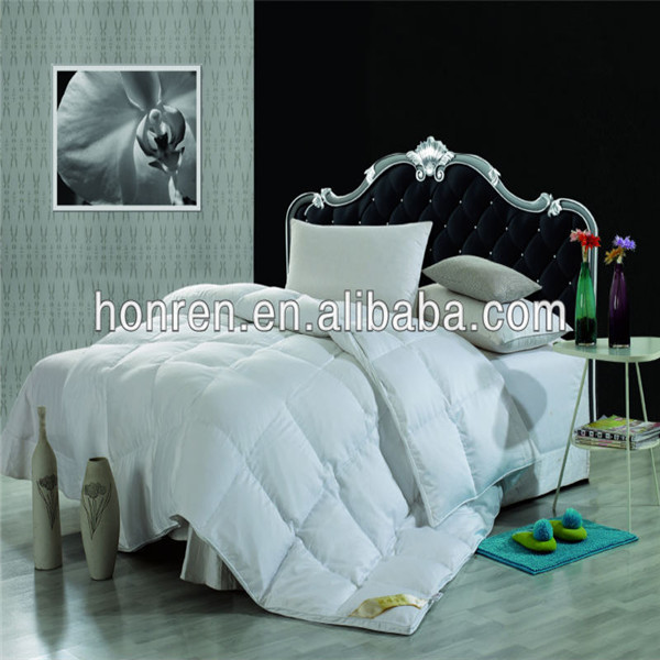 silk fabric down comforter