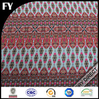 wholesale cheap price rayon fabric custom printed