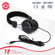 Yes Hope Wired 3.5mm foldable over-ear headphone portable lightweight stereo headsets