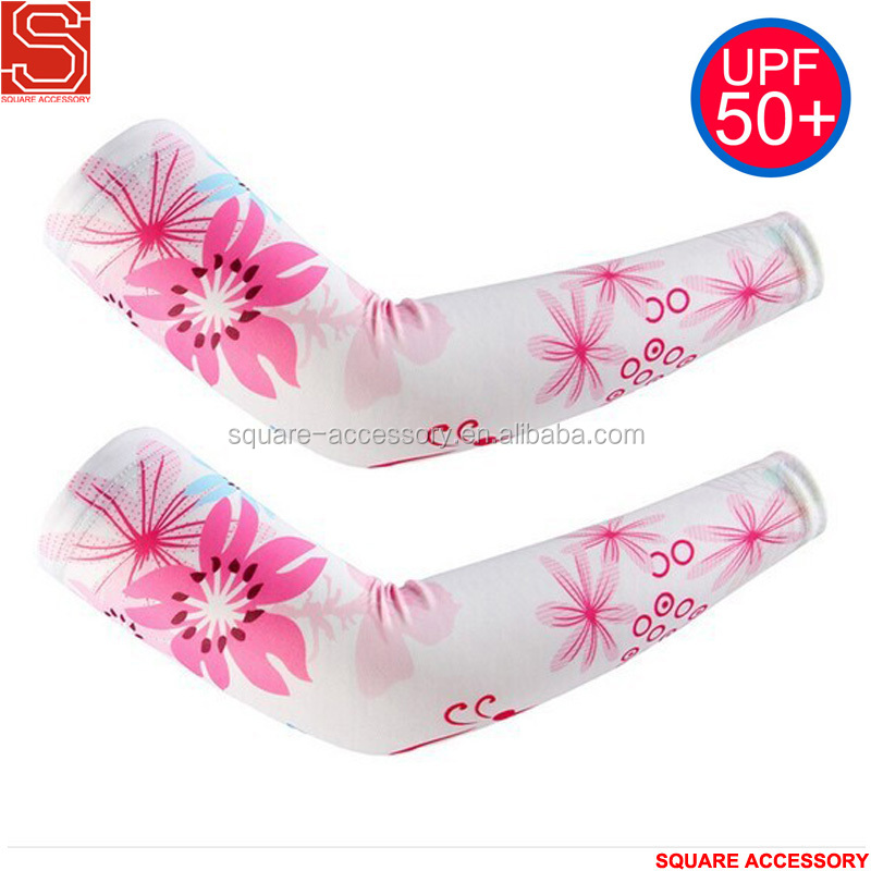 Wholesale Women Bicycle Arm Sleeves Type Team Cycle Arm Covers