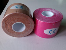 Medical Gauze Roll With Color Packing Custom Kinesiology Katoen Zwart Sporttape