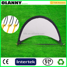 brand logo hot selling professional competitive portable football goal