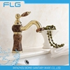 New Arrival Factory Product BM105 Deck Mounted Single Handle Marble Gold Basin Faucet Basin Mixer Lead Free Healthy Bib Cock