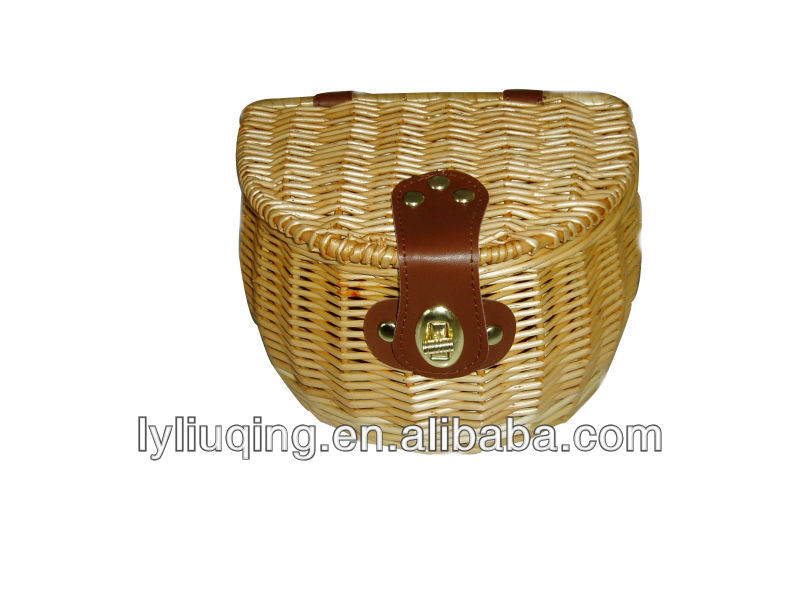 Small Willow Fishing Creel High Quality Novelty Gifts