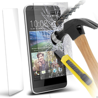 Explosion-Proof Membrane 9H Tempered Glass Screen Protector for HTC M8