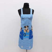 Brand new cheap custom logo printing cooking canvas aprons