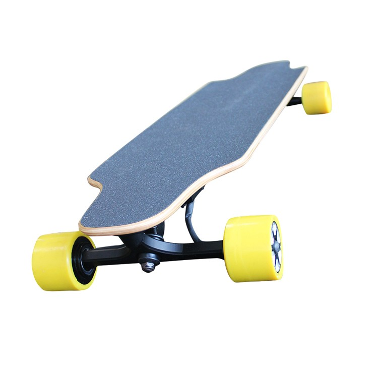 4 wheel electric skateboard dual brushless motors skateboard with high quality deck