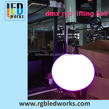 360degree programmable dmx512 led foggy globe color changing
