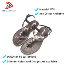 Wedding Wholesale Fancy Women Slide Latest Ladies Slippers Shoes And Barefoot Baby Girl Low Price Barefoot Jelly Sandals