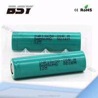 power tool 3.7v lipo battery samsung inr18650-20r 2000 mah battery