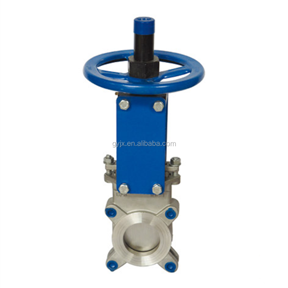 cast iron/ss304 knife gate valve made in China