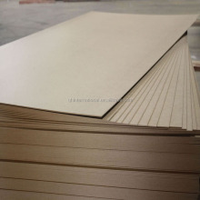 standard size 3mm plain mdf board for interior design