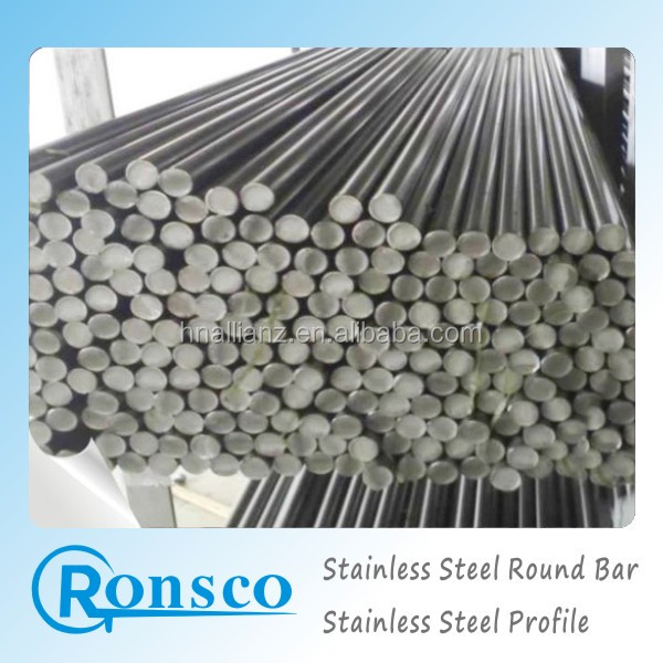 1.4302 stainless steel round bar original black, polished, pickling