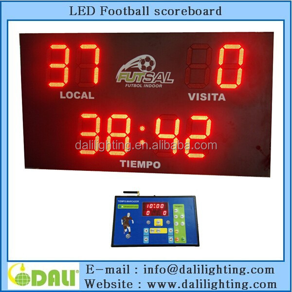 High brightness indoor outdoor Soccer Scoreboards