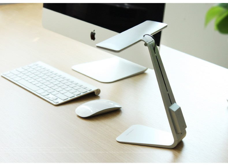 New Arrival Fashion Style Rechargable Eyeshield Ultrathin LED office Desk Lamp