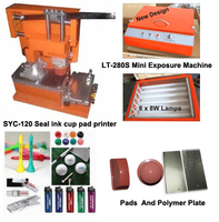 hand plastic pens pad printing machine for sale
