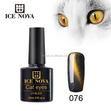 Magnet Cat Eyes Top Coat Soak Off Gel Nail Varnish Transparent UV/LED Cat Eye Gel Polish