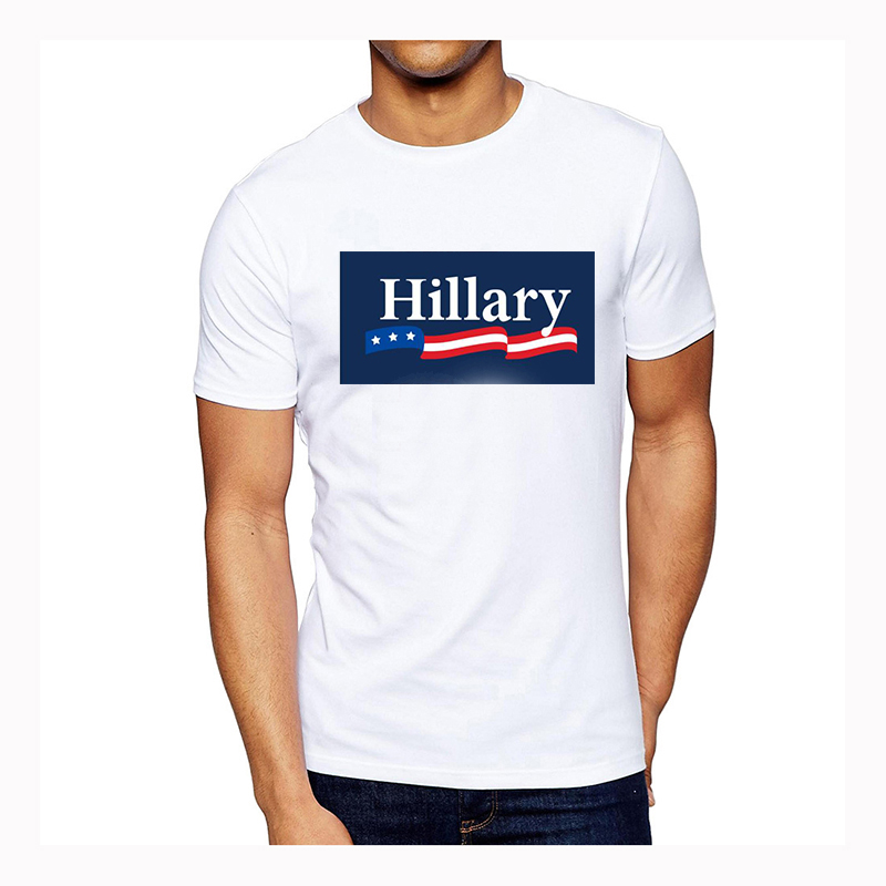 polyester blank plain oem printed custom president voting election campaign election t shirt