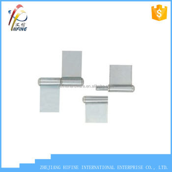high quality zinc plated welding flag hinge