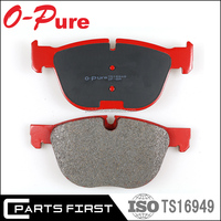 OEM Auto parts front ceramic High performance disc brake pad hi-q for BMW E81 E87 E88 E82 E90 34 11 6 769 763 GDB1625