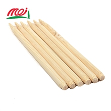 BBQ bamboo knots skewers with custom logo