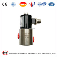 Sales CNG filling machine explosion proof solenoid valve