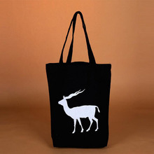 new design and fashion style blank in high quality tote canvas bag
