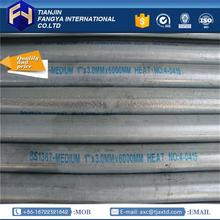 "alibaba website ! galvanized steel pipe for garden used greenhouses for sale 1/2"" gi pipe made in China"