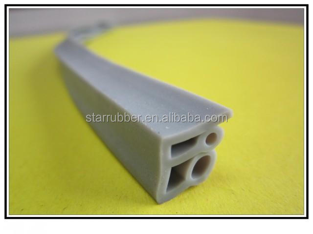 Colorful Extruded Silicone Rubber Door Gaskets