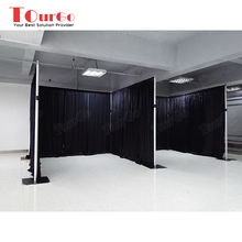 TourGo Truss display backdrop pipe and drape kits system for weeding