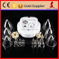 Female lymphatic drainage and nipple breast pump enlargement breast growing machine