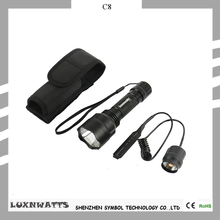 2016 new design Long distance search XM-L2 1000 Lumen high power flashlight kits