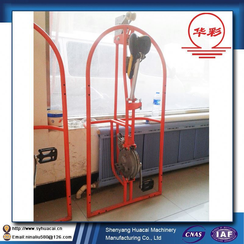 ZLJP200 patent mobile aerial steamship cleaning equipment CE types of scaffolding