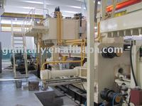 Aluminium extrusion machine 1350T