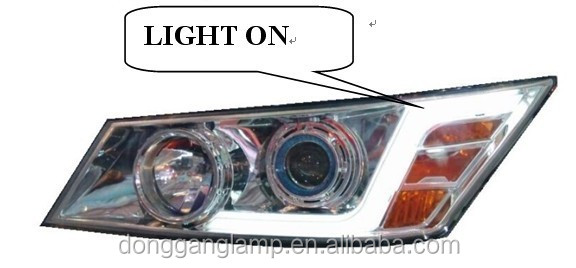 Donggang Factory FIBER OPTIC Bus Headlight LED