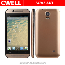 Mini M8 Dual Core 4.5 Inch 3G Android 4.2 unlocked cell phone good price wifi