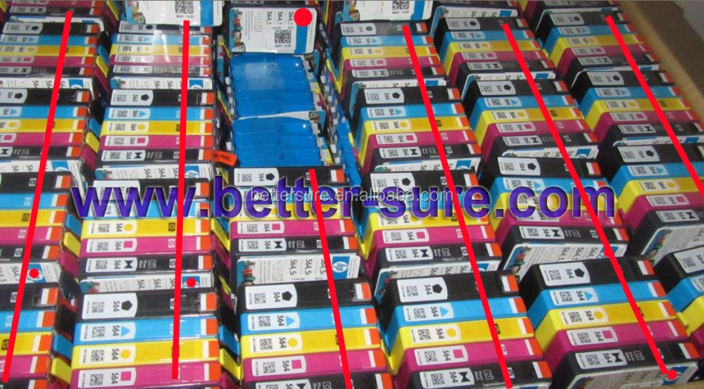 Printer compatible supply for hp original ink cartridge 564 set and Color